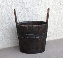 ●台所の道具:木桶