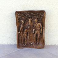 ●木彫り-ペタンク