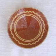 ●南仏の陶器-オムレツ皿