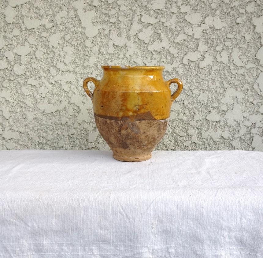 ●南仏の陶器-保存瓶