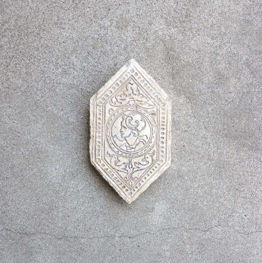 フランスの陶板