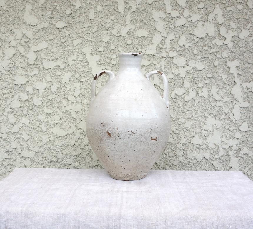 ●南仏の陶器ー白壺
