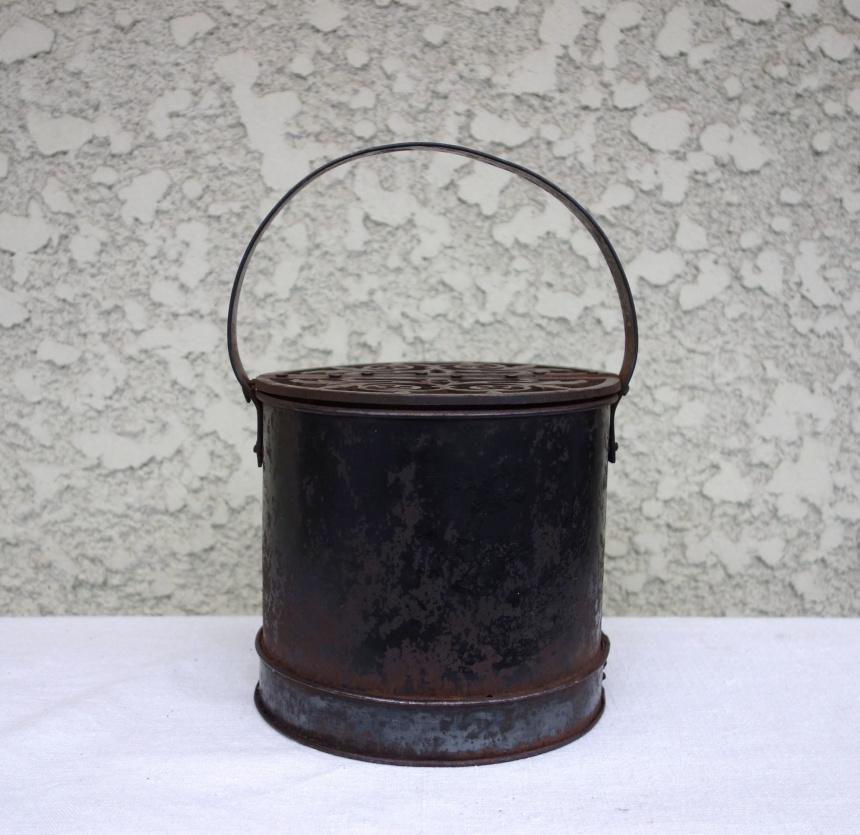 ●冬の生活古道具-足温器