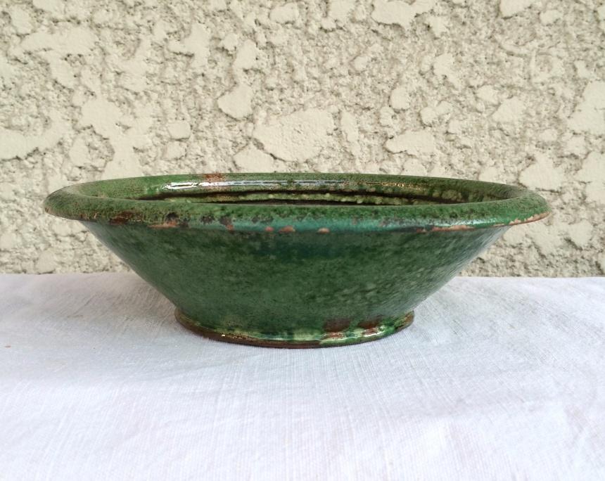 ●フランスの陶器 / 緑釉