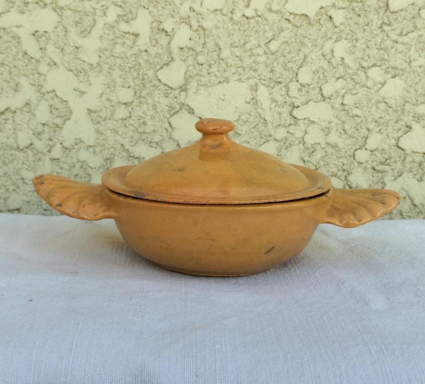 ●南仏の陶器 / 黄釉