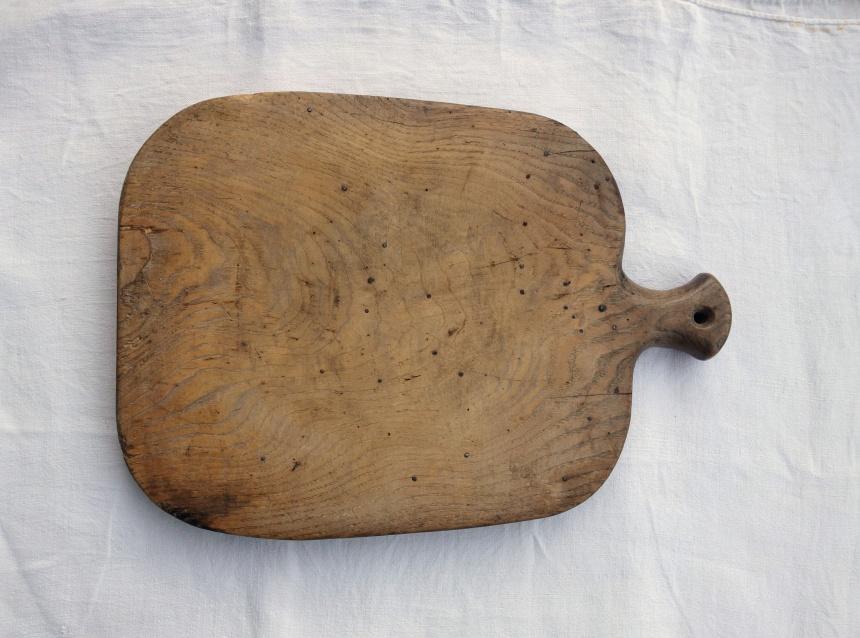 ●フランス古道具:料理道具 / まな板