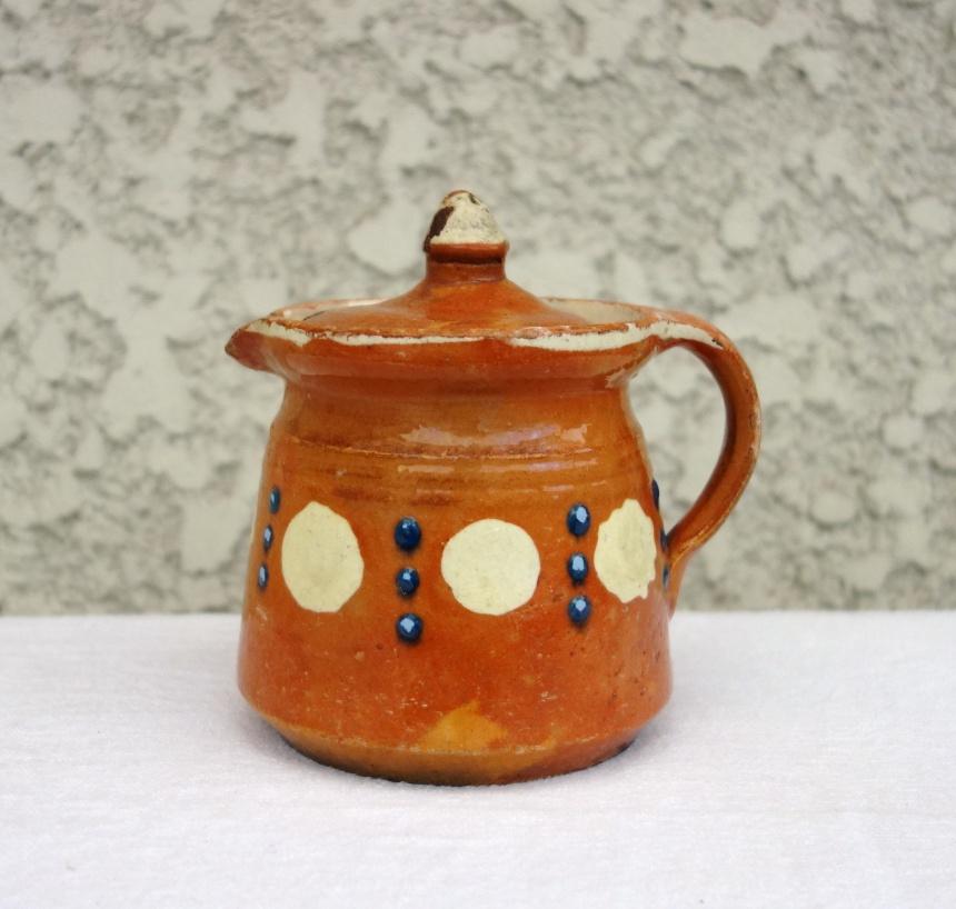 ●フランス陶器-ミルクポット