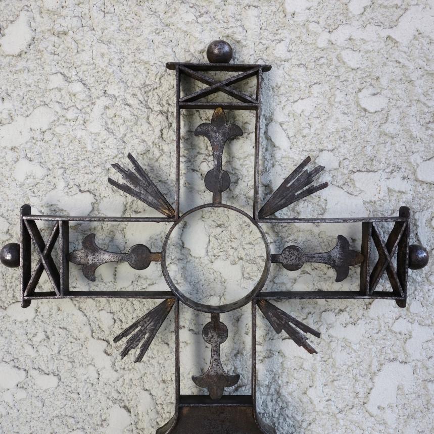 フランス古道具:十字架