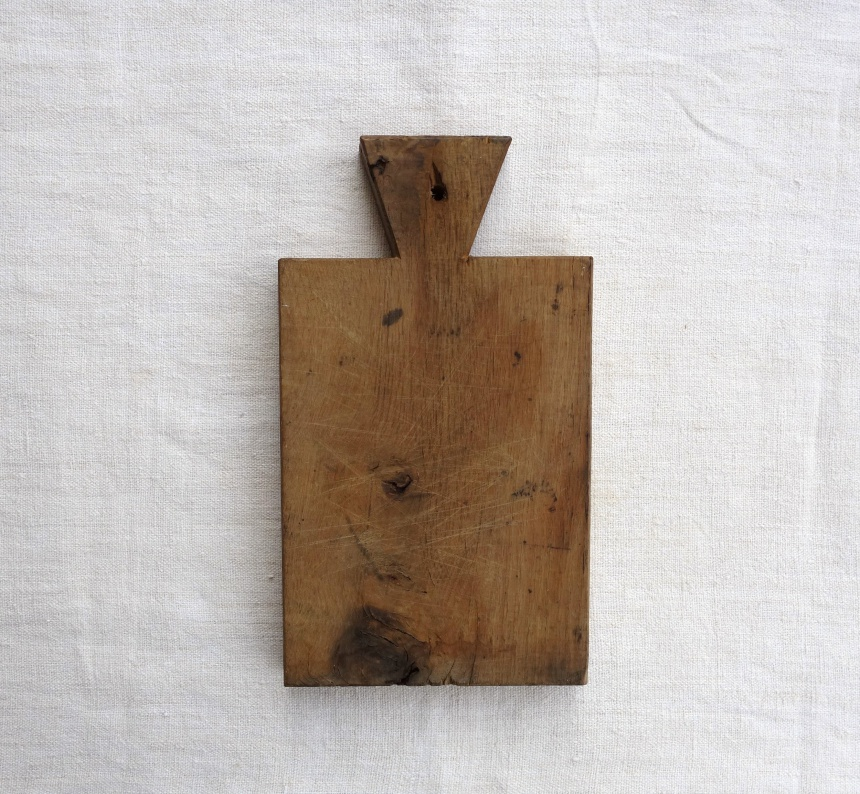 フランス古道具:料理道具/まな板