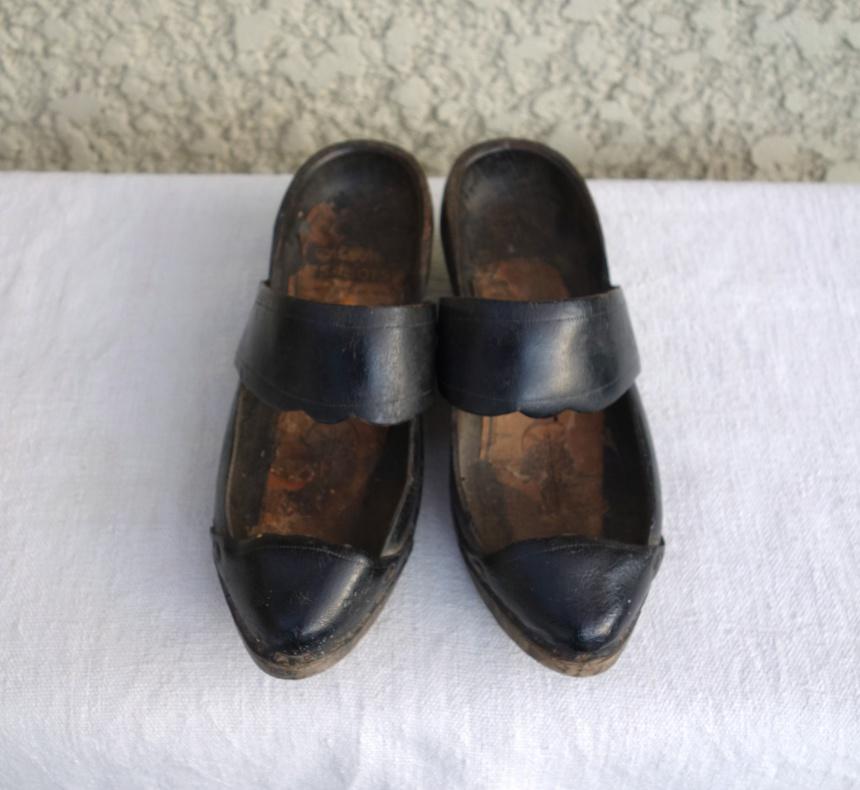 ●フランス古道具:木靴