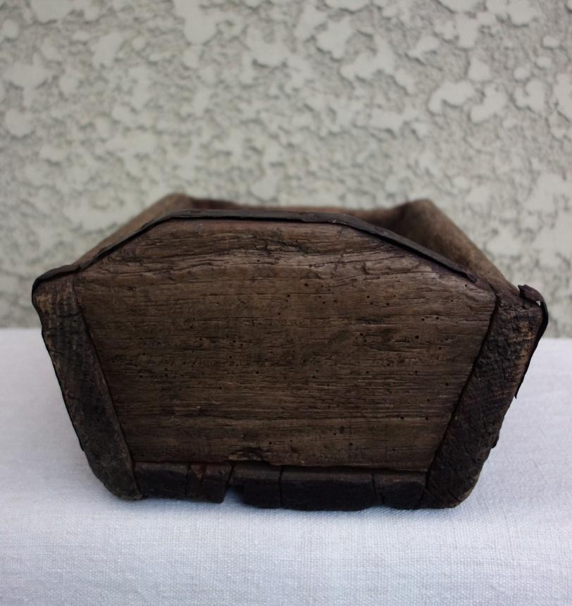 フランスの古道具:木の入れ物