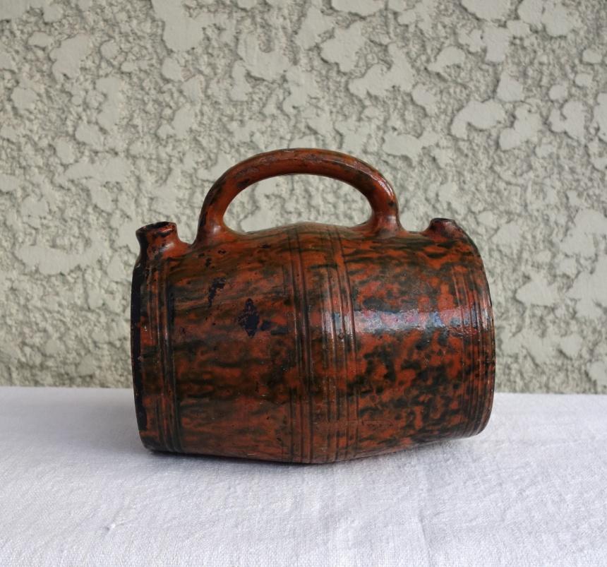 フランス古道具:水筒