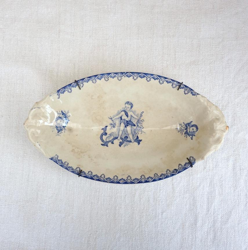 ●飾り皿-天使