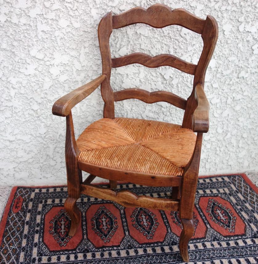 ●南仏の古道具:子供椅子