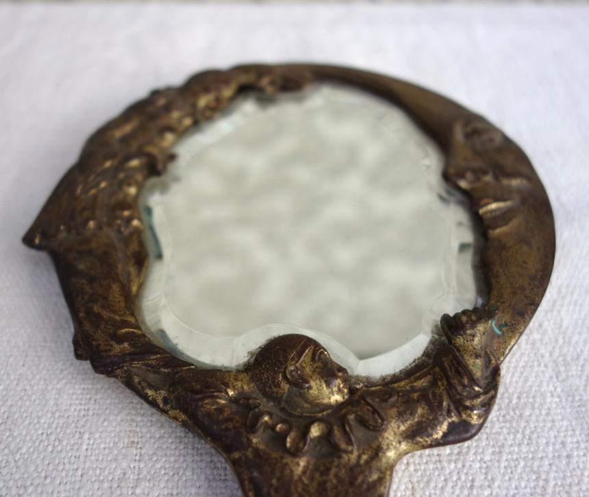 ●フランス古道具;身だしなみの道具-鏡