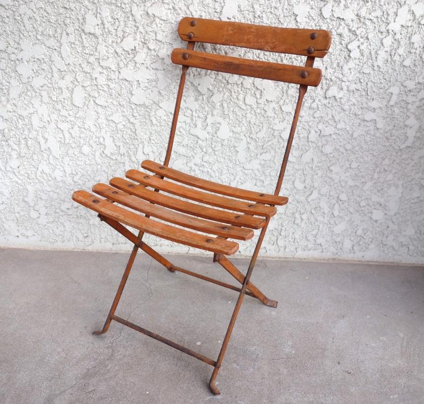 ●フランスの古道具:小さきもの-子供椅子