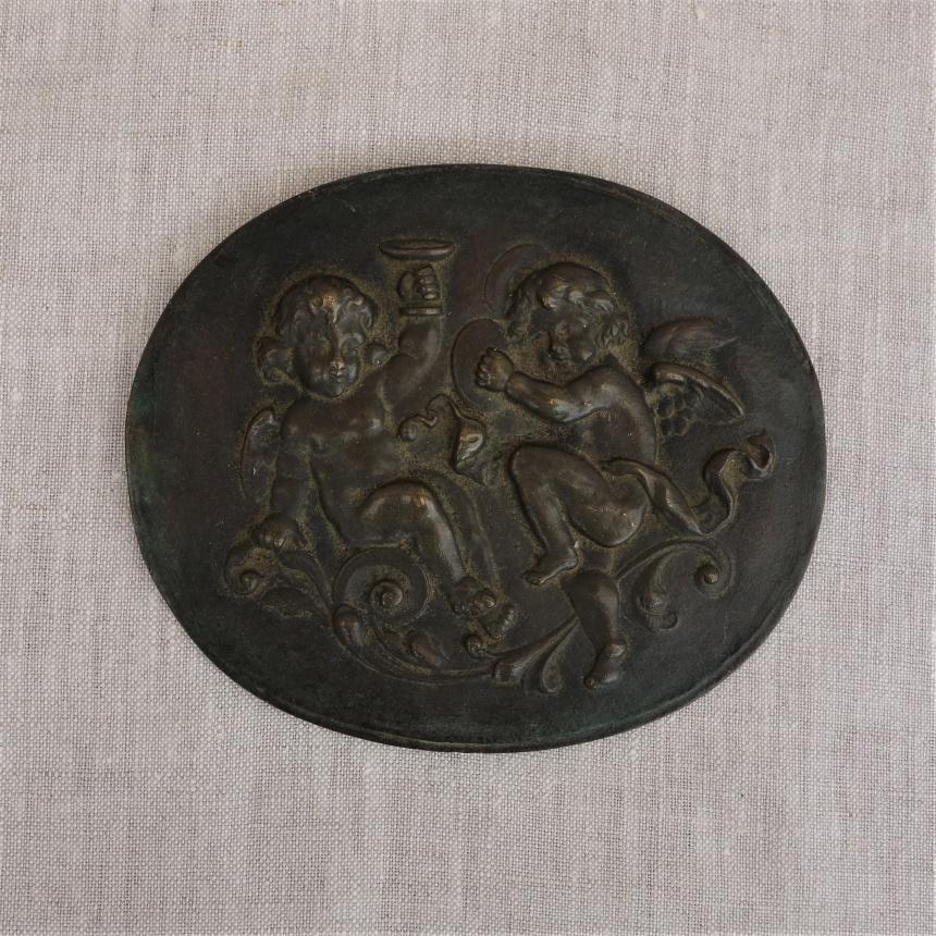 ●フランスの古道具A; 天使の飾り