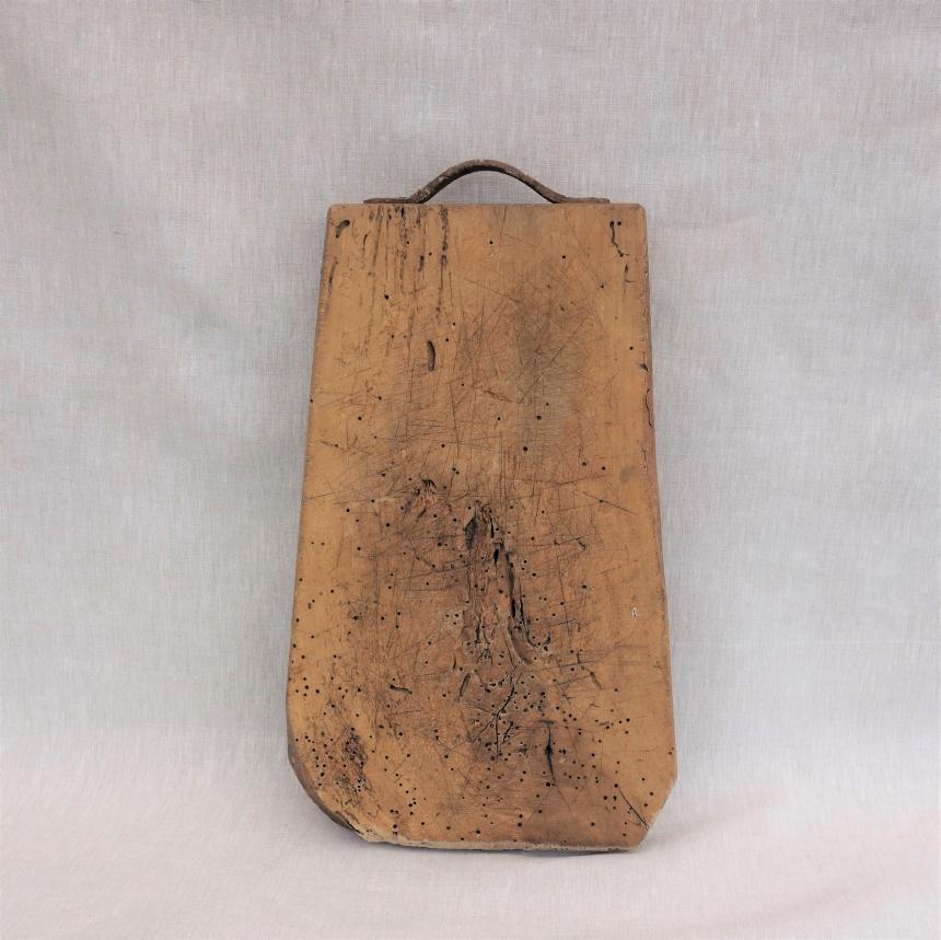 フランス古道具L;料理の道具:まな板=L
