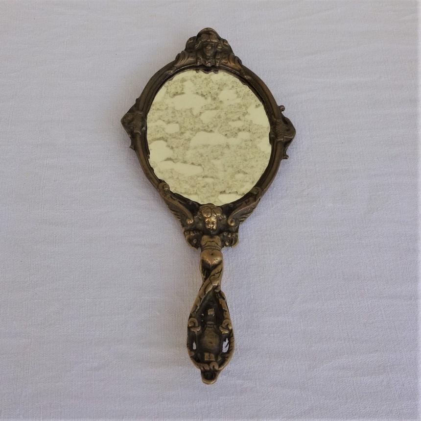 南仏の古道具:身だしなみの道具;鏡