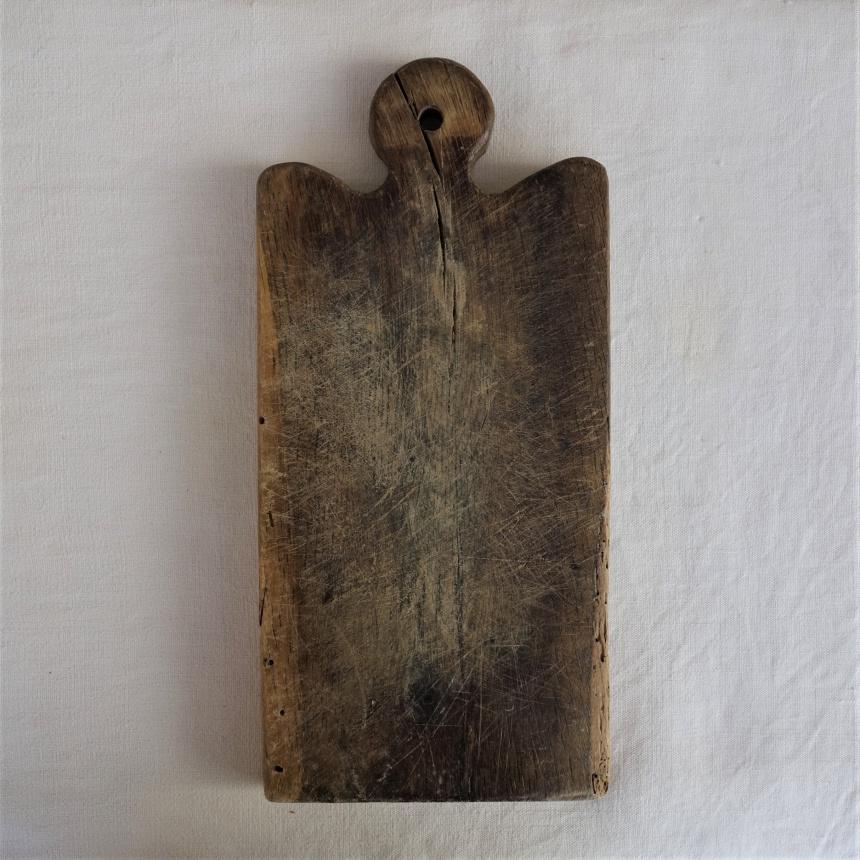 南仏の古道具:料理の道具;まな板=Z