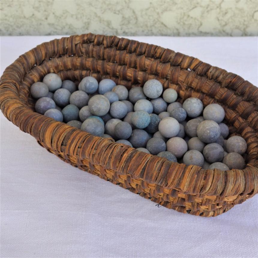 ●フランスの古道具:遊びの道具;石玉