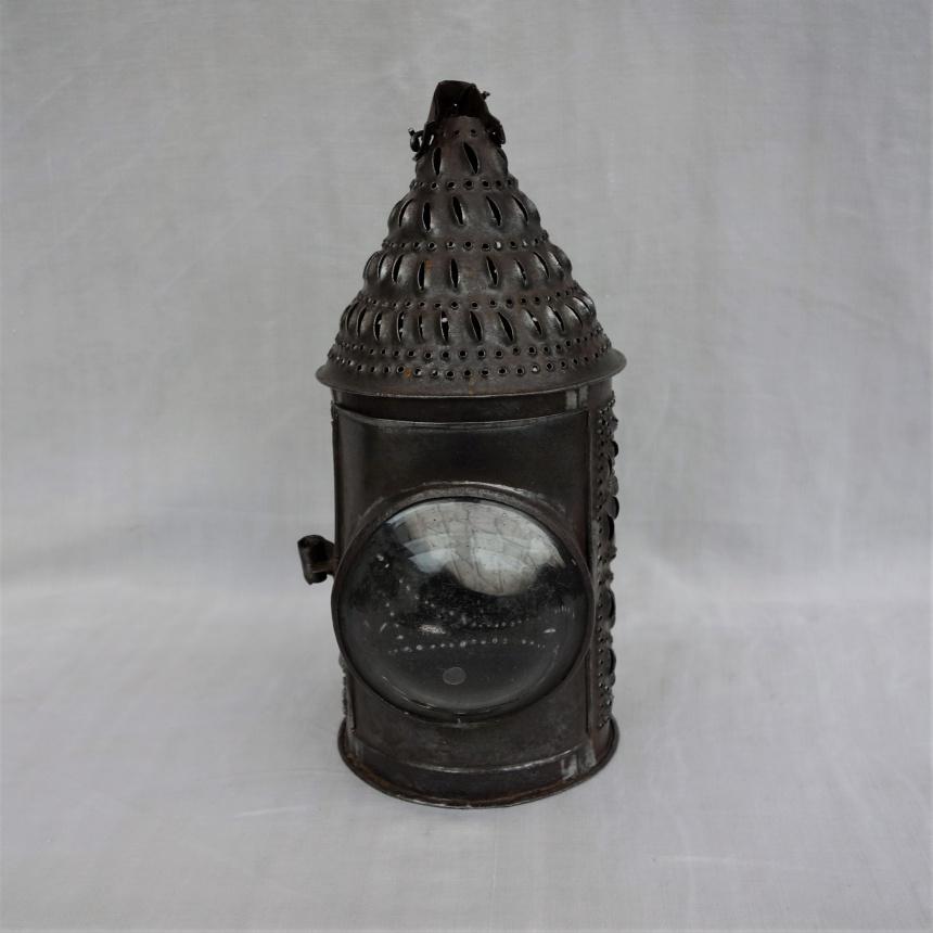 """●フランス古道具 """"L"""" 灯りの道具-手提げランプ"""