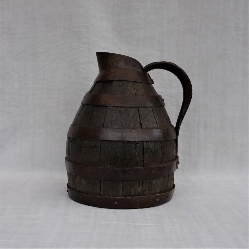 """●フランス古道具 """" B"""" ワインの道具-酒壷"""
