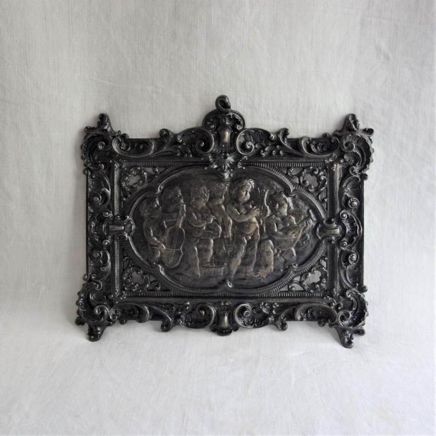 """フランス古道具 """" P """" 宗教的な飾り-天使Ⅱ"""