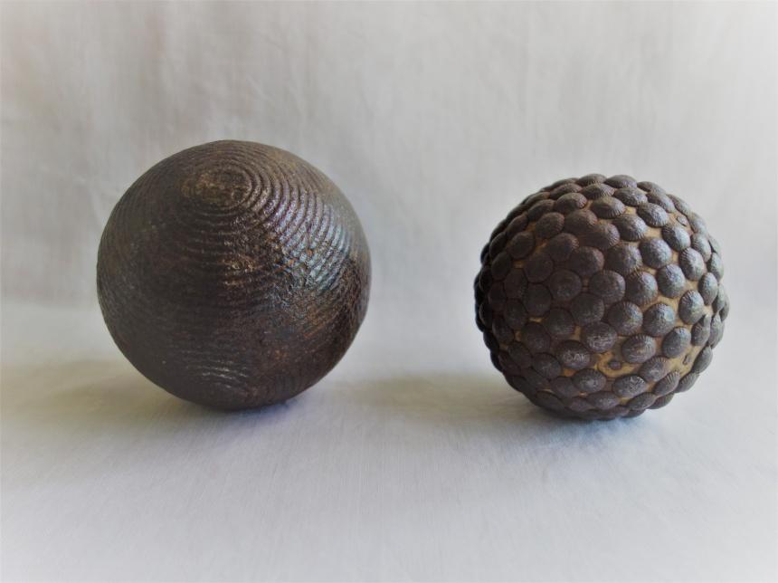 """●フランス古道具 """"B"""" 遊びの道具-ボール"""