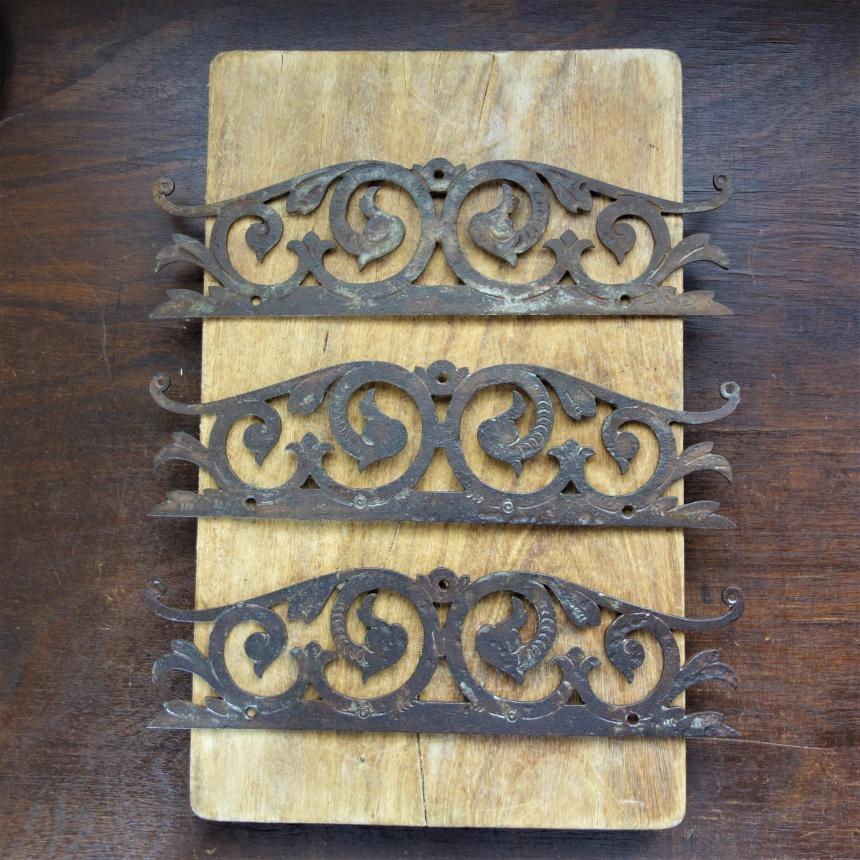 """●フランス古道具 """"A"""" 装飾道具-アラベスク"""