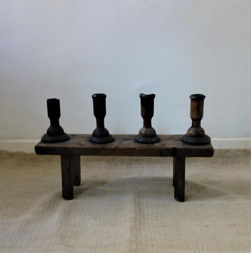 """●フランス古道具""""B"""" 蝋燭たて"""