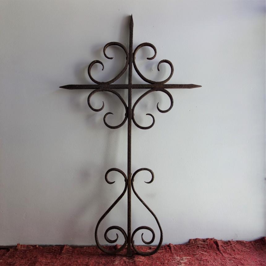"""フランス古道具 """" C""""  十字架"""