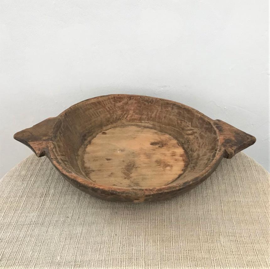 フランス古道具:木製盛り鉢