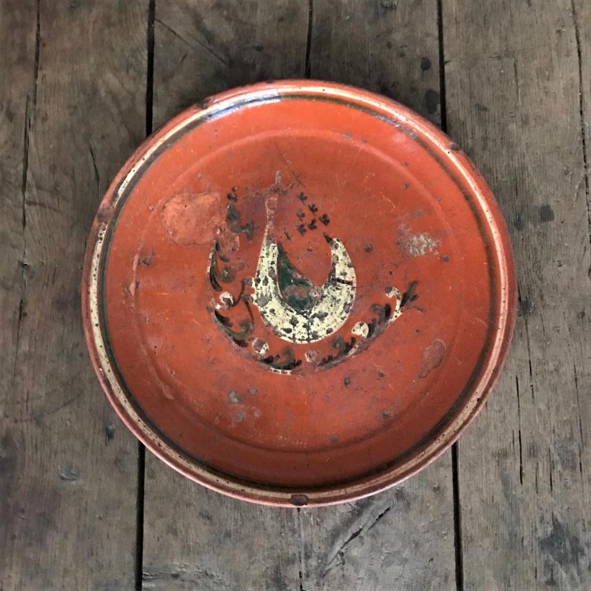 フランス古道具:山間のお皿